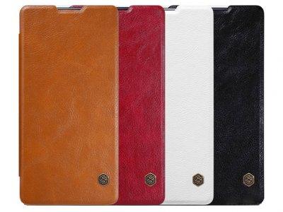 کیف چرمی نیلکین سونی Nillkin Qin Leather Case Sony Xperia XA Ultra