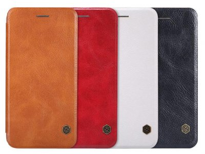 کیف چرمی نیلکین آیفون Nillkin Qin Leather Case Apple iPhone 6 Plus