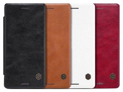 کیف چرمی نیلکین سونی Nillkin Qin Leather Case Sony Xperia X