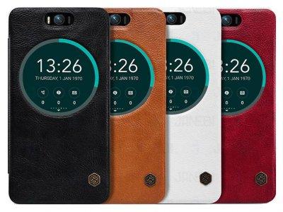 کیف چرمی نیلکین ایسوس Nillkin Qin Leather Case Asus Zenfone Selfie ZD551KL