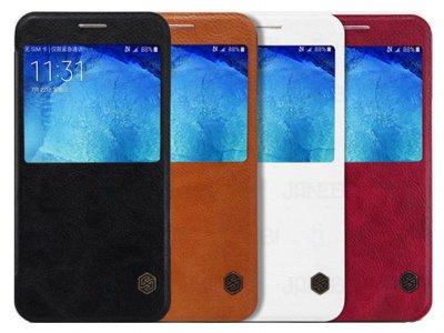 کیف چرمی نیلکین سامسونگ Nillkin Qin Leathe Case Samsung Galaxy A8