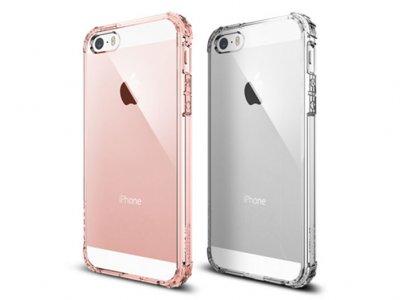 قاب محافظ اسپیگن آیفون Spigen Crystal Shell Case iPhone SE/5/5s
