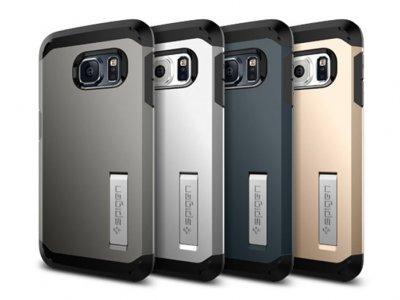 قاب محافظ اسپیگن سامسونگ Spigen Tough Armor Case Samsung Galaxy S6 Edge