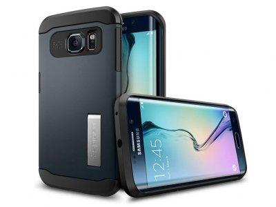 قاب محافظ اسپیگن سامسونگ Spigen Slim Armor Case Samsung Galaxy S6 Edge Plus