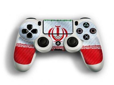 کاور اسکین کنترلر کنسول بازی پلی استیشن 4 PS4 Controller Skin Iran