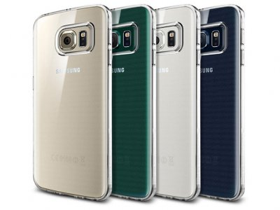 محافظ ژله ای اسپیگن سامسونگ Spigen Liquid Crystal Case Samsung S6 Edge Plus