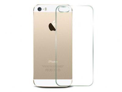 محافظ صفحه نمایش شیشه ای پشت آیفون Glass Back Protector Apple iPhone 5/5S