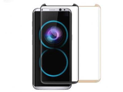 محافظ صفحه نمایش شیشه ای Mocoll 3D Glass Samsung Galaxy S8 Plus