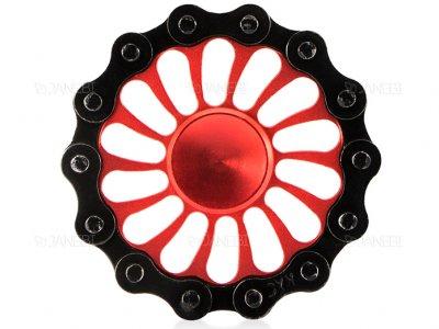 اسپینر فلزی طرح زنجیر دوچرخه 2 Fidget Spinner Metal Bike Chain