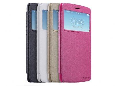 کیف محافظ نیلکین ال جی Nillkin Sparkle Leather Case LG Stylus 3