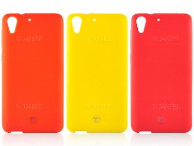 محافظ ژله ای سیلیکونی اچ تی سی TT Sborn TPU Case HTC Desire 728