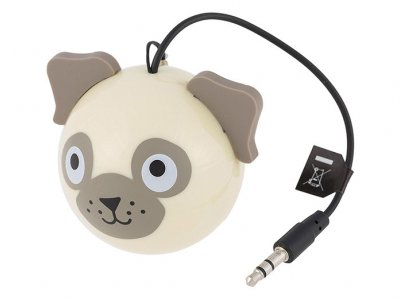 اسپیکر مای دودلز طرح سگ پاگ My Doodles Pug Speaker
