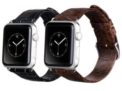 بند چرمی اپل واچ هوکو طرح کروکودیل Hoco pple Watch Art Series Classic Real Leather Crocodile Starp 42mm