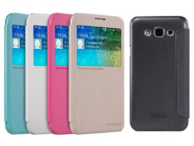 کیف نیلکین سامسونگ Nillkin Sparkle Case Samsung Galaxy E5