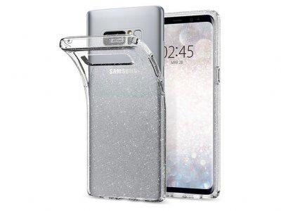 محافظ ژله ای اسپیگن سامسونگ Spigen Liquid Crystal Glitter Case Samsung Note 8