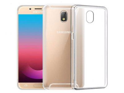 محافظ شیشه ای - ژله ای سامسونگ Samsung Galaxy J7 Pro Transparent Cover