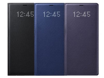کیف چرمی اصلی سامسونگ Samsung Galaxy Note 8 LED Cover |