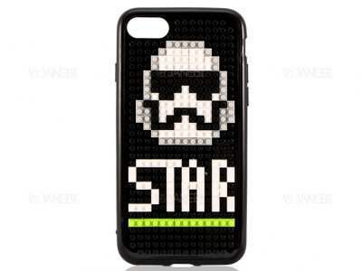 قاب محافظ آیفون طرح جنگ ستارگان Mini Block Star Wars Case Apple iPhone 7/8