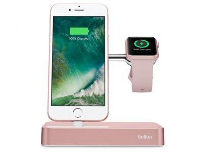داک شارژ اپل واچ و آیفون بلکین Belkin Valet Charge Dock Apple Watch And iPhone