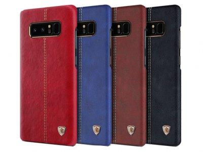 قاب محافظ چرمی نیلکین سامسونگ Nillkin Englon Samsung Galaxy Note 8
