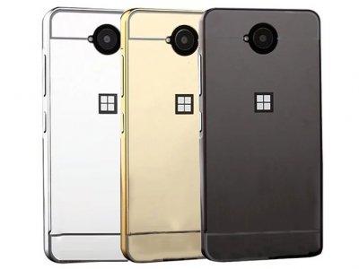 قاب محافظ آینه ای مایکروسافت Mirror Case Microsoft Lumia 650