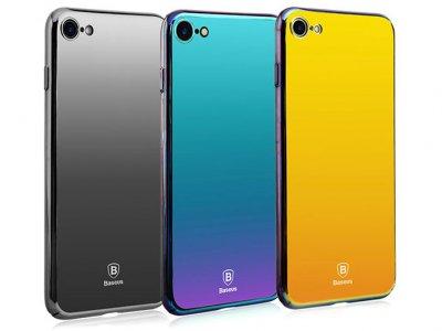 قاب محافظ بیسوس آیفون Baseus Glass Case iPhone 7/8