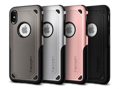 قاب محافظ اسپیگن آیفون Spigen Hybrid Armor Case Apple iPhone X
