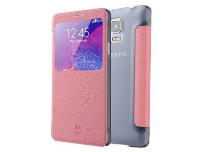 کیف چرمی بیسوس Baseus Leather Case Samsung Galaxy Note 4