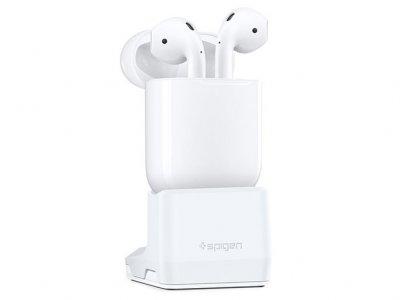استند شارژ ایرپاد اپل اسپیگن Spigen Apple Airpods Stand S313