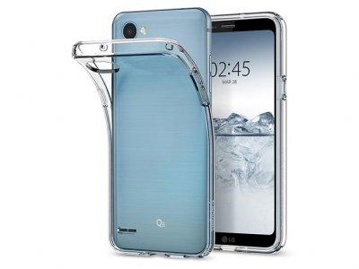 محافظ ژله ای اسپیگن ال جی Spigen Liquid Crystal Case LG Q6