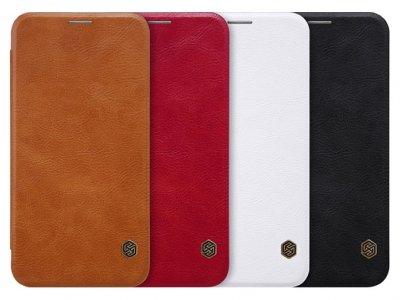 کیف چرمی نیلکین ال جی Nillkin Qin Leather Case LG V30