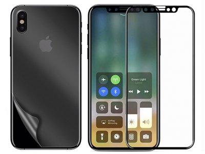 محافظ صفحه نمایش شیشه ای آیفون MRYES Tempered Full Glass Apple iPhone X