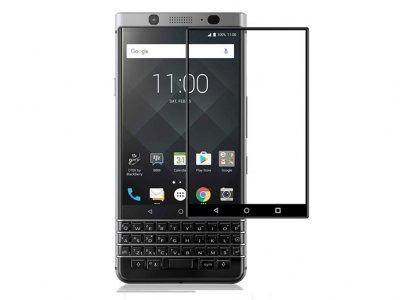 محافظ صفحه نمایش شیشه ای تمام صفحه بلک بری Full Glass Cover Blackberry Keyone/DTEK70/Mercury