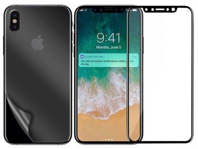 محافظ صفحه نمایش شیشه ای آیفون MRYES 3D Glass Apple iPhone X