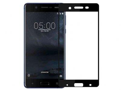 محافظ صفحه نمایش شیشه ای تمام صفحه نوکیا Glass Full Cover Nokia 5