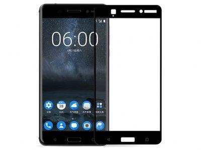 محافظ صفحه نمایش شیشه ای تمام صفحه نوکیا Glass Full Cover Nokia 6