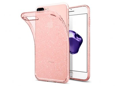 محافظ ژله ای اسپیگن آیفون Spigen Liquid Crystal Glitter Case Apple iPhone 7 Plus/8 Plus