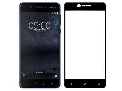 محافظ صفحه نمایش شیشه ای تمام صفحه نوکیا Lanbi 3D Glass Nokia 5