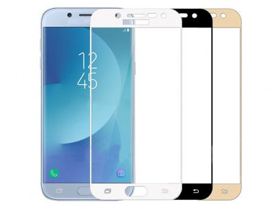 محافظ صفحه نمایش شیشه ای تمام صفحه سامسونگ Lanbi 3D Glass Samsung Galaxy J3 Pro