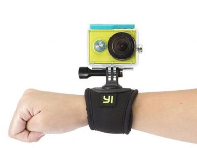 بند نگهدارنده دوربین دور مچ شیائومی Xiaomi YI Wrist Strap Mount Action Camera