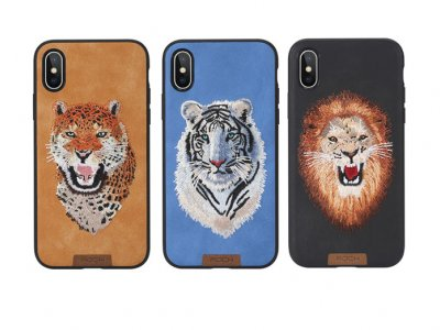 قاب محافظ راک آیفون Rock Beast Series Embroidery Case Apple iPhone X