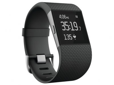 ساعت هوشمند فیت بیت Fitbit Surge Fitness Super Watch Small