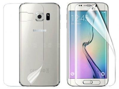 محافظ صفحه نمایش پشت و رو شفاف سامسونگ Samsung Galaxy S6 Edge Screen Protector