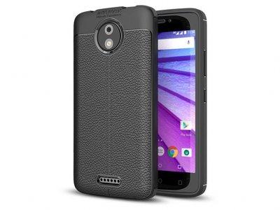 قاب ژله ای طرح چرم موتورولا Auto Focus Jelly Case Motorola Moto C Plus