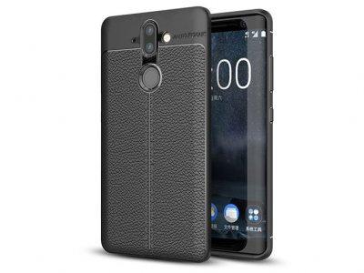 قاب ژله ای طرح چرم نوکیا Auto Focus Jelly Case Nokia 9