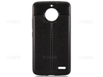 قاب ژله ای طرح چرم موتورولا Auto Focus Jelly Case Motorola Moto E4