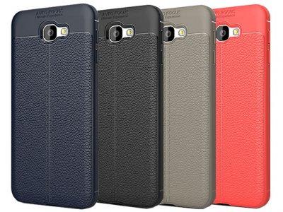 قاب ژله ای طرح چرم سامسونگ Auto Focus Jelly Case Samsung Galaxy J7 Prime