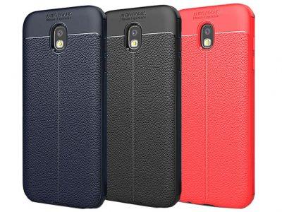 قاب ژله ای طرح چرم سامسونگ Auto Focus Jelly Case Samsung Galaxy J7 Pro |