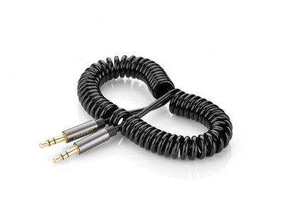 کابل انتقال صدا فنری یوگرین Ugreen AV107 AUX Cable 1.5M