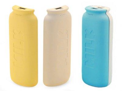 پاوربانک دوتایی ریمکس Remax Milk Series Power Bank 11000mah